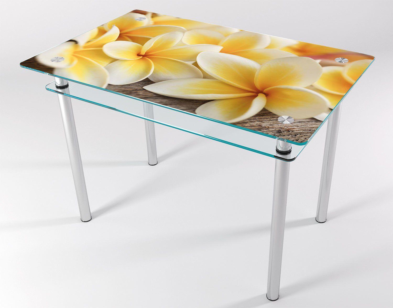 стеклянные столы с картинками имеет
